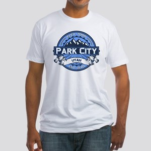 Park City Blue Fitted T-Shirt