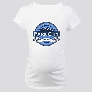 Park City Blue Maternity T-Shirt