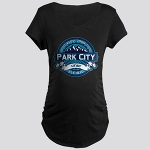 Park City Ice Maternity Dark T-Shirt