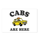 Cabs Are Here Postcards (Package of 8)