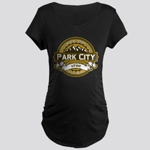 Park City Wheat Maternity Dark T-Shirt
