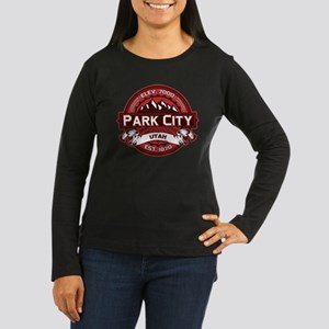 Park City Red Women's Long Sleeve Dark T-Shirt