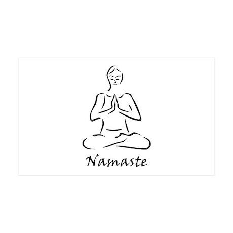Namaste 38.5 x 24.5 Wall Peel
