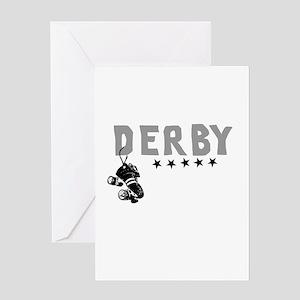 Cafepress derby design Greeting Cards
