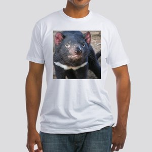 Tasmanian Devil Gifts Fitted T-Shirt