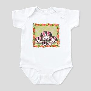 """Hedgie Bunnies"" Infant Creeper"