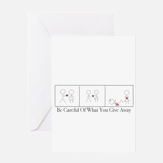 Care For Your Heart Greeting Card