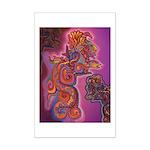 Quetzalcoatl Trinity Mini Poster Print