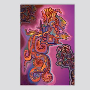 Quetzalcoatl Trinity Postcards (Package of 8)