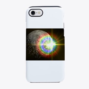 Sun Rise Over the Moon iPhone 7 Tough Case