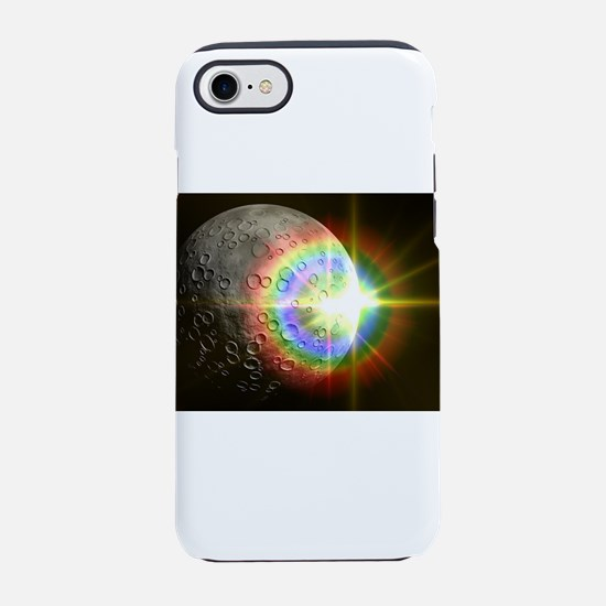 Sun Rise Over the Moon iPhone 7 Tough Case