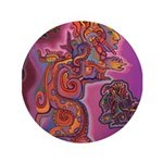"Quetzalcoatl Trinity 3.5"" Button"