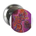 "Quetzalcoatl Trinity 2.25"" Button"