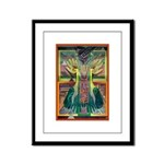 Ancient Traces Framed Panel Print