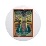 Ancient Traces Ornament (Round)