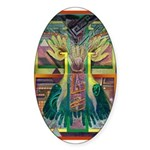 Ancient Traces Sticker (Oval 50 pk)