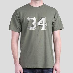 Dantes #34 Monte Cristo Dark T-Shirt