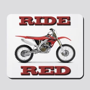 RideRed 08 Mousepad