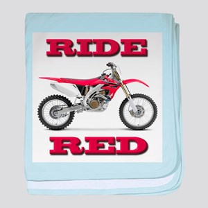 RideRed 08 baby blanket