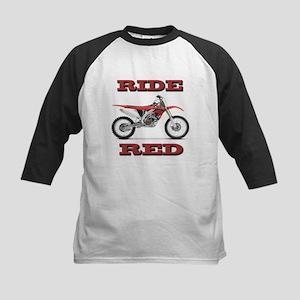 RideRed 08 Kids Baseball Jersey