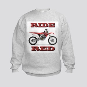 RideRed 08 Kids Sweatshirt