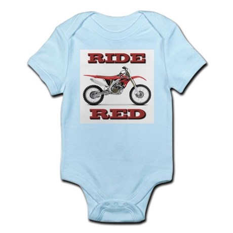 RideRed 08 Infant Bodysuit