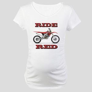RideRed 08 Maternity T-Shirt