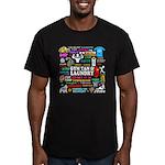 Jersey GTL Men's Fitted T-Shirt (dark)