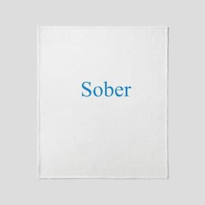 iSober Throw Blanket