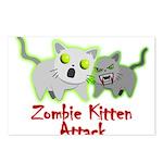 Zombie Kitten Postcards (Package of 8)