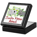 Zombie Kitten Keepsake Box