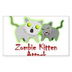 Zombie Kitten Sticker