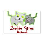 Zombie Kitten Wall Decal