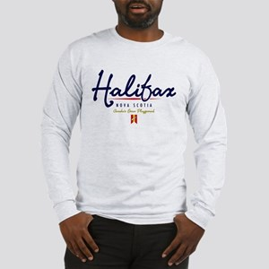 Halifax Script Long Sleeve T-Shirt