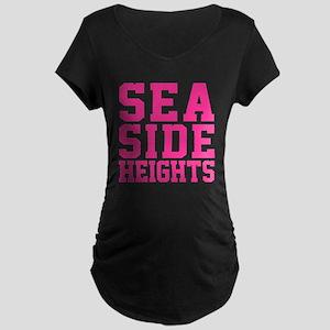 Seaside Heights Maternity Dark T-Shirt