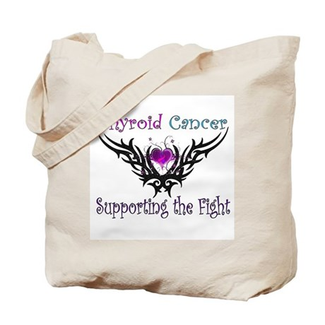 Thyroid Cancer Support Tote Bag