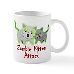 Zombie Kitten Mugs