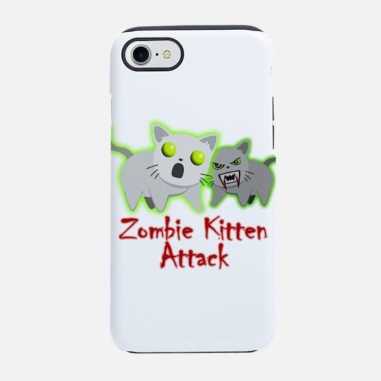 Zombie Kitten iPhone 7 Tough Case