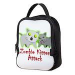 Zombie Kitten Neoprene Lunch Bag