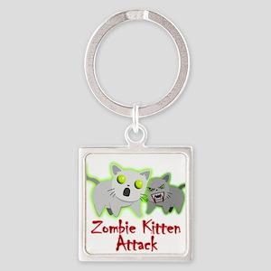 Zombie Kitten Keychains