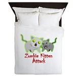 Zombie Kitten Queen Duvet