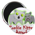 Zombie Kitten Magnets