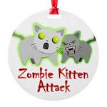 Zombie Kitten Ornament