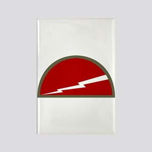 Jersey Lightning Rectangle Magnet