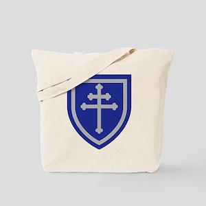 Cross of Lorraine Tote Bag