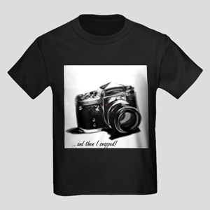 and then I snapped! Kids Dark T-Shirt