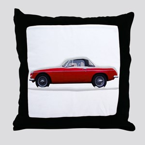 Snow Covered MG Throw Pillow