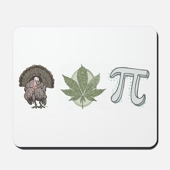Turkey Pot Pie Mousepad