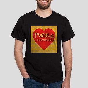 Pueblo Colorado Black T-Shirt