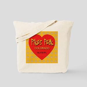 Pikes Peak Colorado Tote Bag